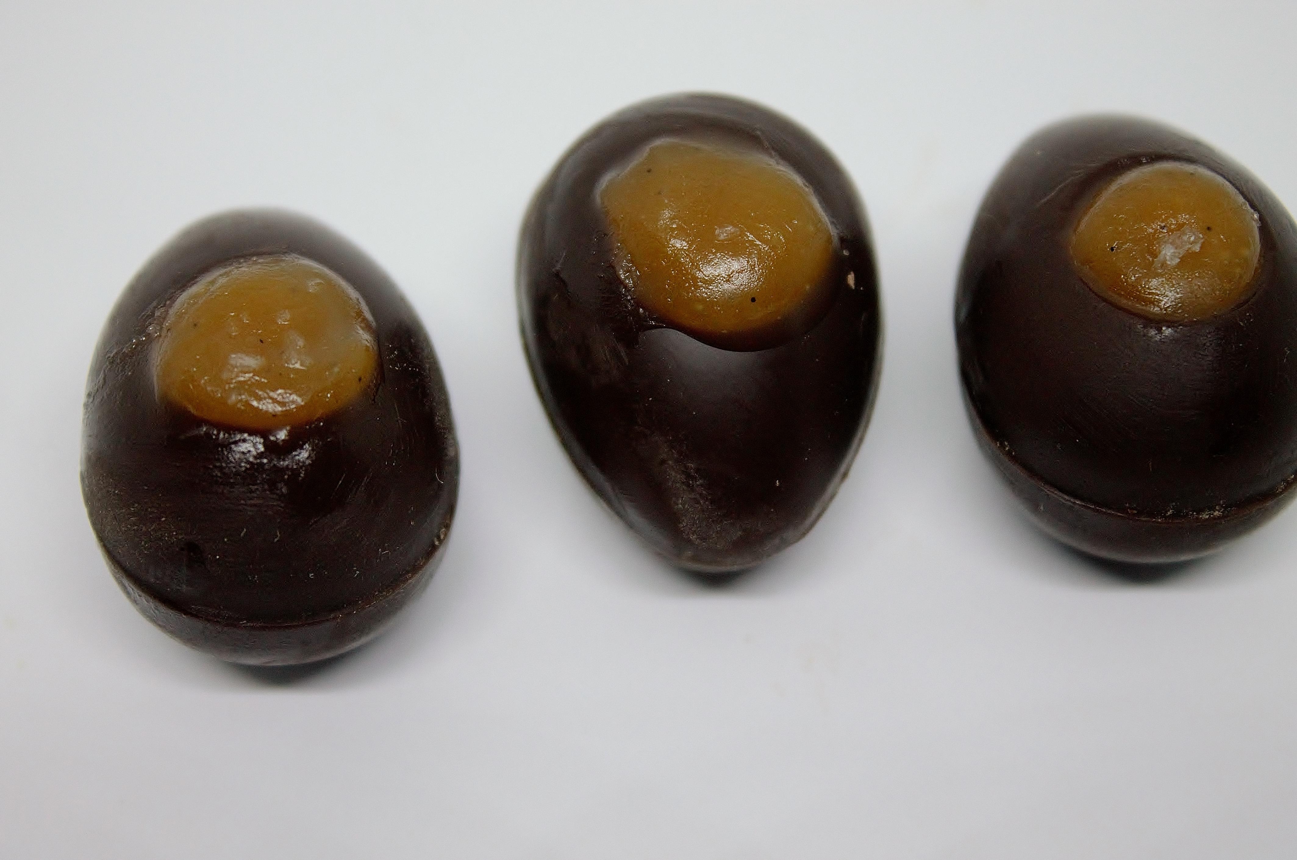 Chokoladeskal med salt karamel
