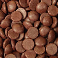 Mørke chokoladeknapper fra Callebaut