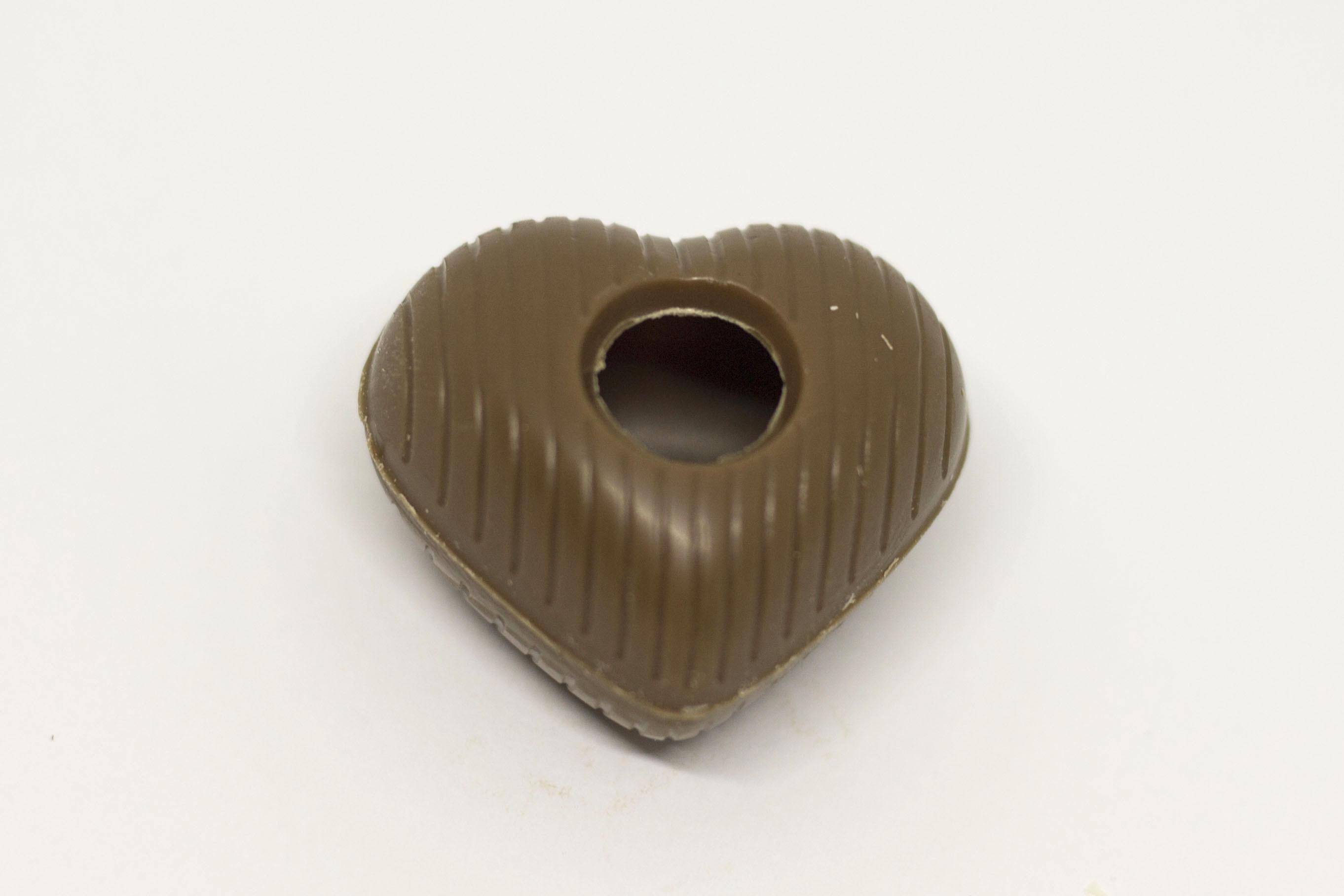 Flødechokolade hjerte