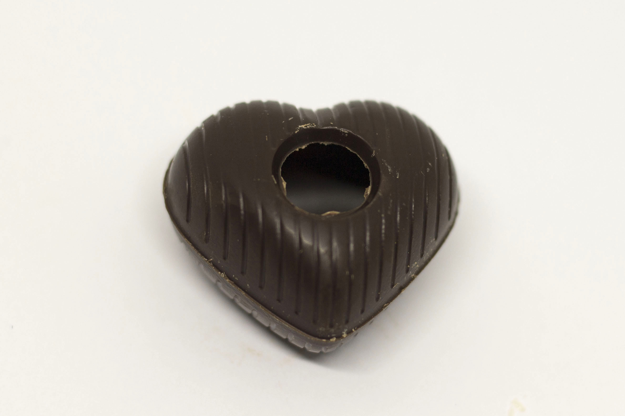 Chokoladeskal Mørk Hjerte