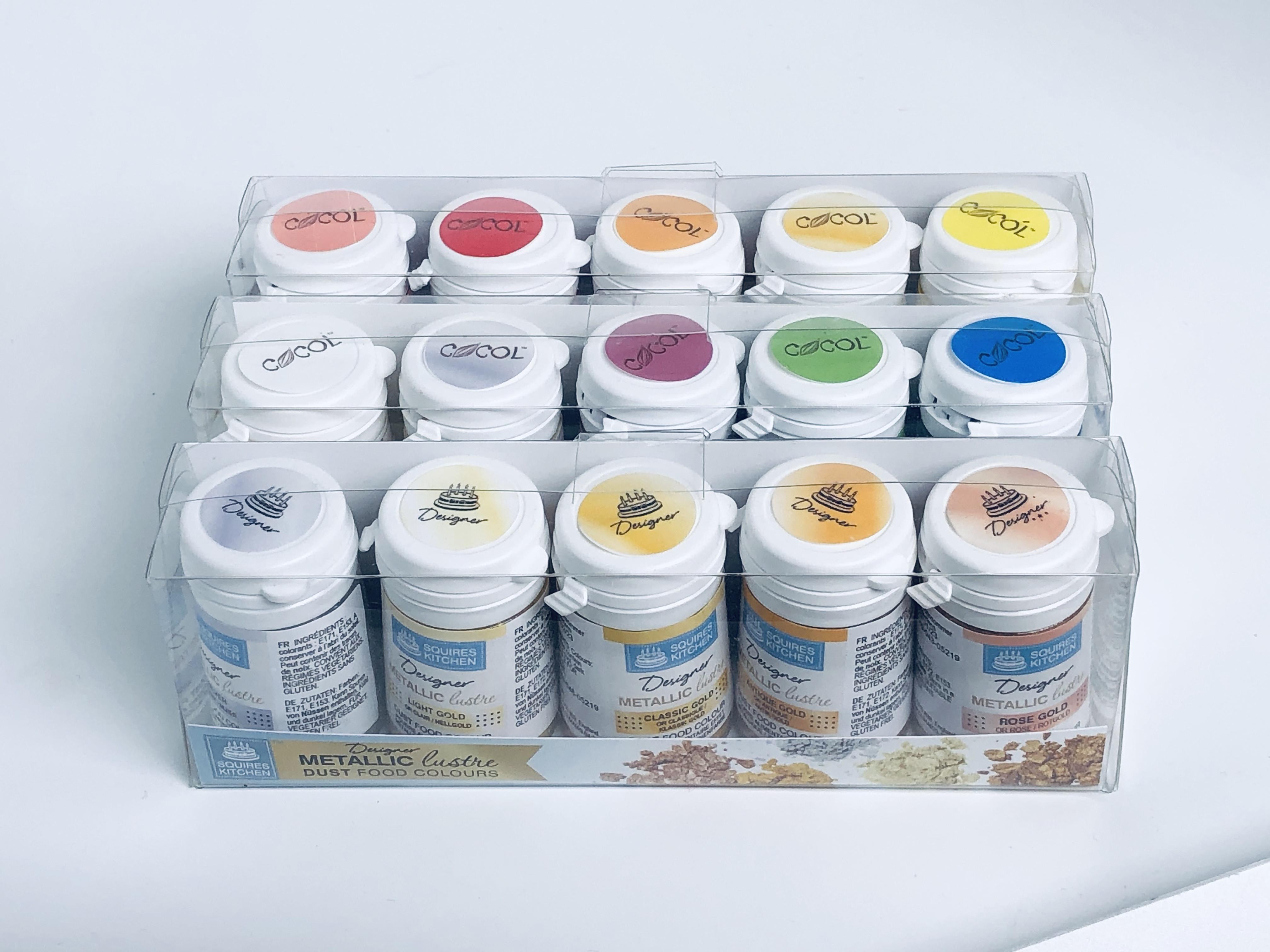 chokoladefarver kit - storkøb