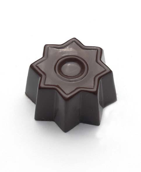 Chokoladeform købt hos Det Søde Liv 810868