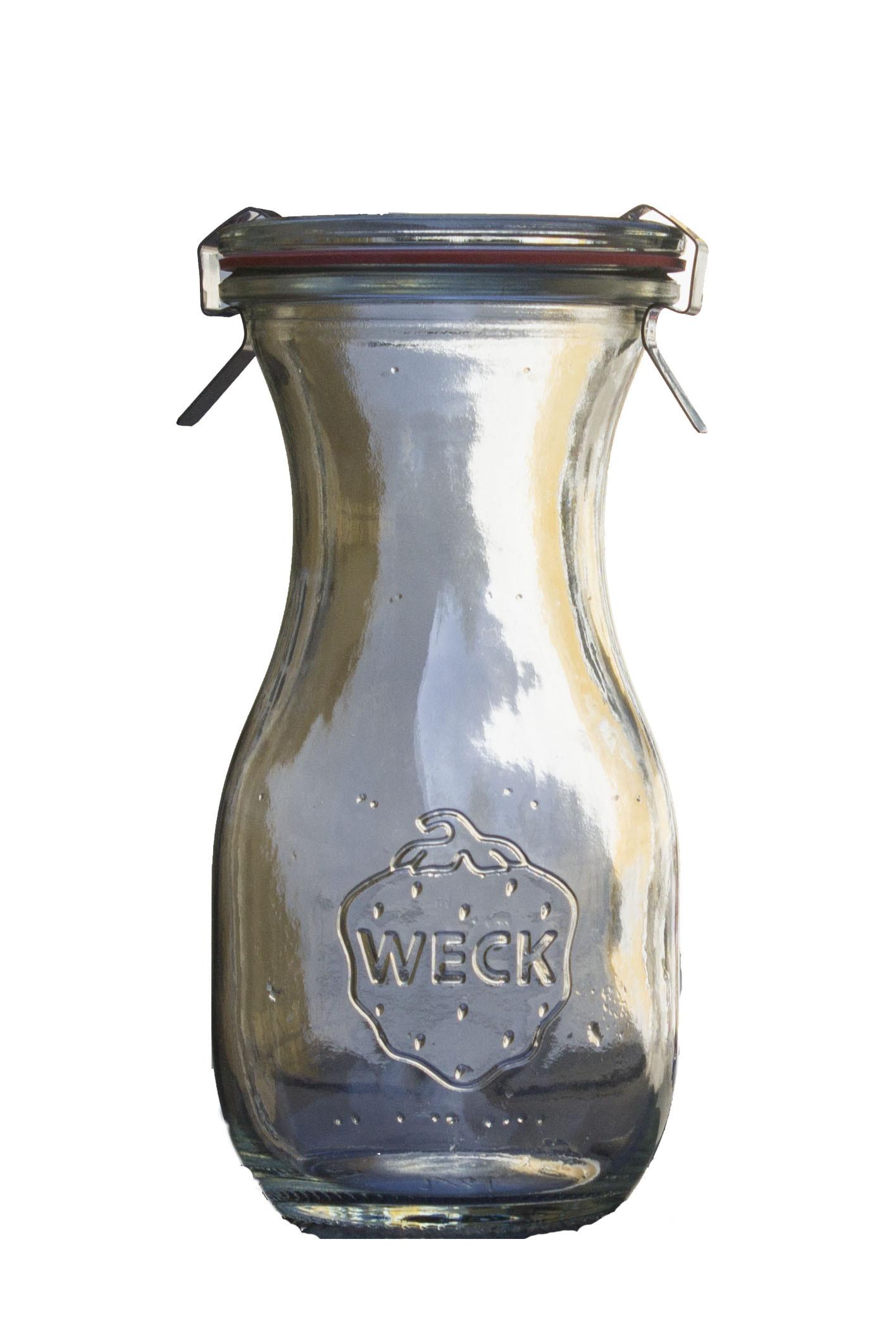 Glas flaske til saft mm