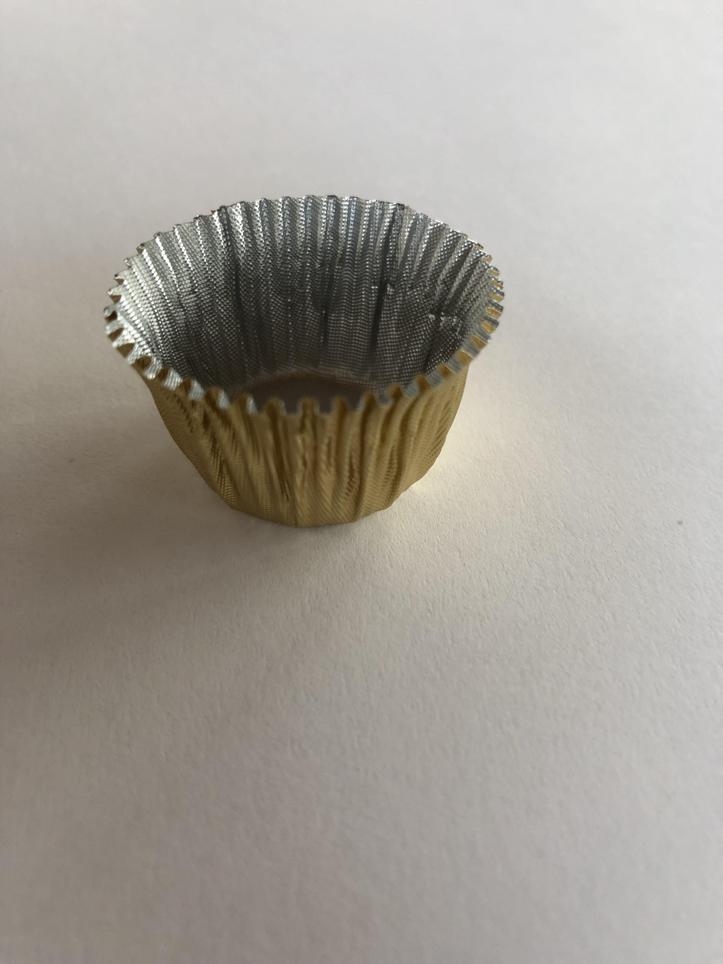 Guld kapsel til chokolade