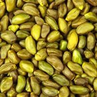 Grønne pistacienødder, usaltet.