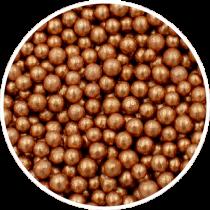 Bronce sukkerperler 40mm