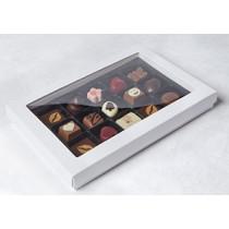 Chokoladeæske med indsat og rude 15-1