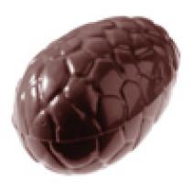 Chokoladeforme til påskeæg i kvalitets polycarbonat. nr. 1050