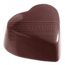 Chokoladeform med 24 hjerter 1214