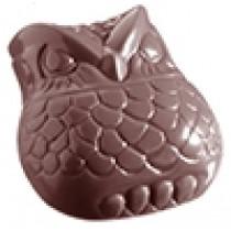 Chokoladeform med ugler,