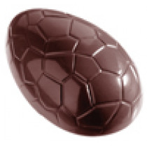 Chokoladeform til stort påskeæg på 150 mm - nr. 3-e7002