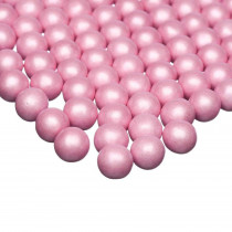 Pink chokolade dragé - dejligt knas