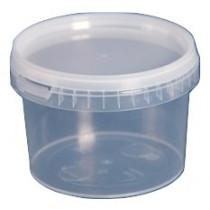 Plastikbøtte med låg 280ml