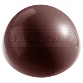 Chokoladeform - halv kugle