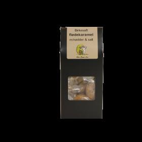 Flødekaramel med nødder og salt