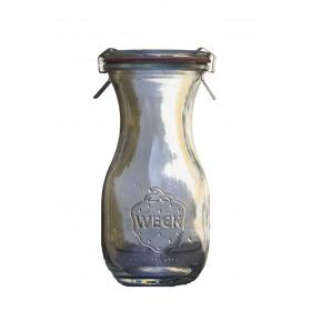 Glas flaske til saft m.m.