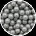 Sølv sukkerperler 8 mm til pynt på kager m.m.