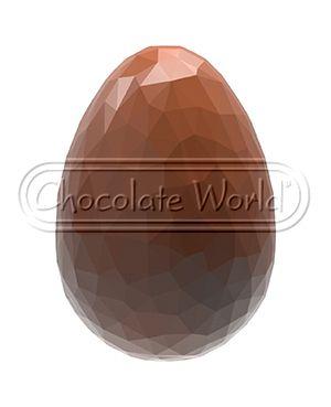 Chokoladeforme til æg med mynster 3-1891
