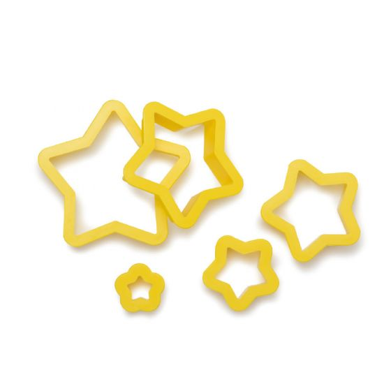 Kageudstikker med stjerne