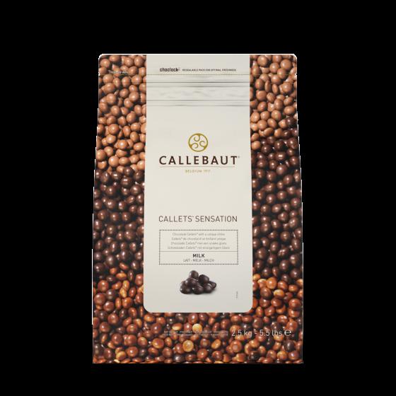Callebaut sensation - lækre blanke ren chokoladekugler.