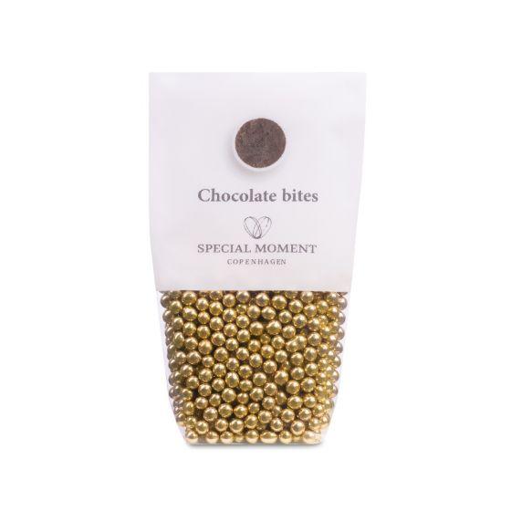 Chokoladeperler - guld