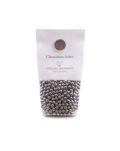 Chokoladeperler - sølv