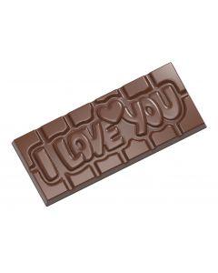 I love you chokoladeform
