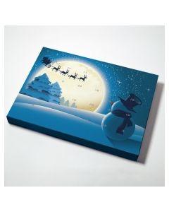Julekalender med snemand