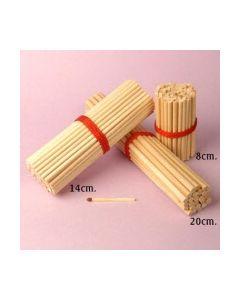 Træpinde til slikkepinde og cupcakes 20 cm