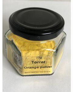 Orange eller appelsinpulver