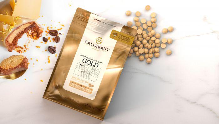 Gold chokolade fra Callebaut