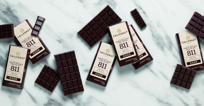 Callebaut chokoladebar med 54 % chokolade