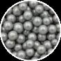 Sukkerperler sølv 8 mm