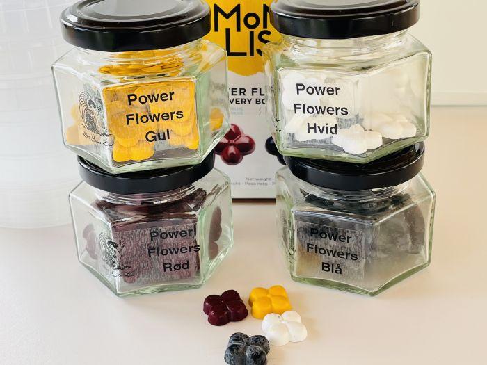 Power Flowers kakaosmørfarve til selvblanding af flotte farver.